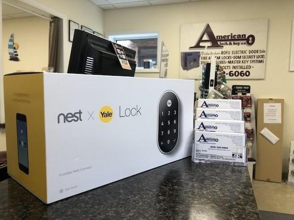 Yale Nest Keyless Lock At American Lock & Key